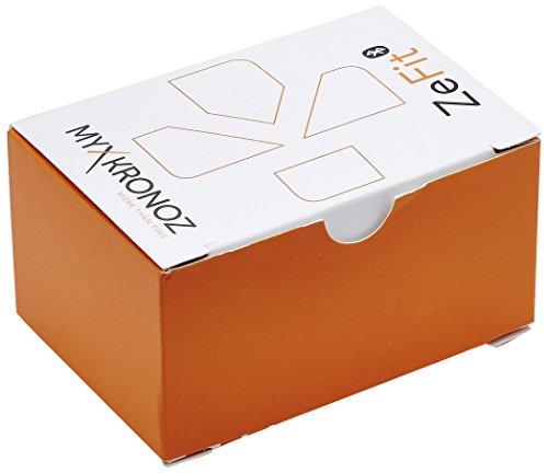 ZeFit MyKronoz - Pulsera-monitor de actividad unisex  color negro