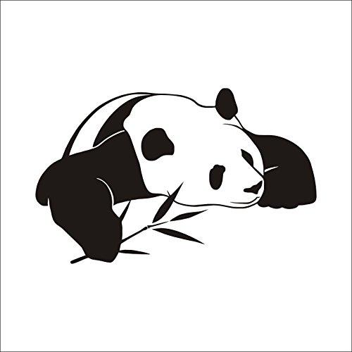 Dosige 1pcs Netter Panda Wand Aufkleber Wandtattoos PVC Wandaufkleber Wandsticker Sticker Dekor