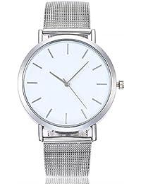 9dd2c2233761 ZARLLE CláSico De Lujo Mujer Damas Chica Unisex Reloj De Pulsera De Cuarzo  De Acero Inoxidable