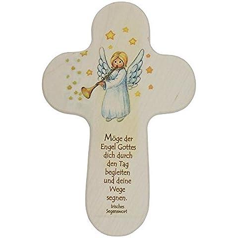Bambini croce angelo con trombone * Il angelo di Dio che ti dur*