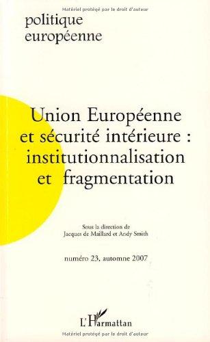 Politique européenne, N° 23, automne 2...