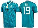 DFB Trikot Kinder 2018 Away WC - Sane 19 (152)