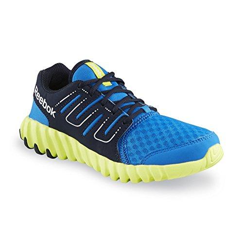 Reebok Twist Form, Unisex Kinder Baby Mädchen Jungen Baby, Jungen Sneaker Low-Tops , blau - blau - Größe: 29.5 (Athletic Schuh Womens Casual)