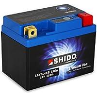 SHIDO LTX5L-BS LION -S- Batería de ion de litio, color azul