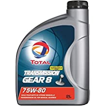 TOTAL Transmission lubrifiant Gear 8 75w80 - 2 L