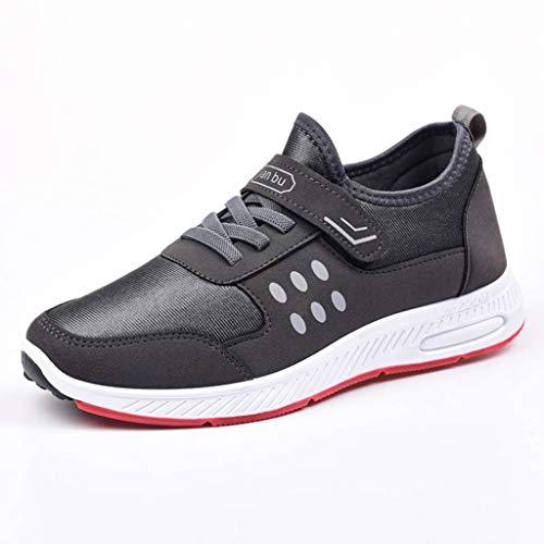 ABsoar Sneakers Herren Mesh Sportschuhe Atmungsaktiv Stretch Casual Schuhe Joggingschuhe Bequem Fitnessschuhe Kletterschuhe Laufschuhe