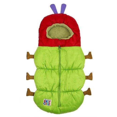 Preisvergleich Produktbild Raupe Nimmersatt C70009 2in1 Kinderwagen - Babyschalen-Schlafsack, grün