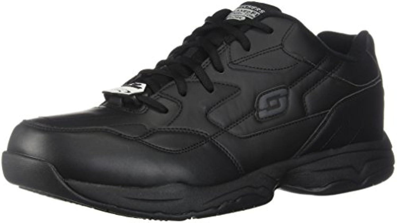 Skechers Work Men's Felton Slip Resistant Relaxed Fit Work Shoe