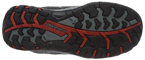 Karrimor Bodmin Mid Weathertite, Chaussures de Randonnée Hautes Mixte Enfant Noir (Bkr)
