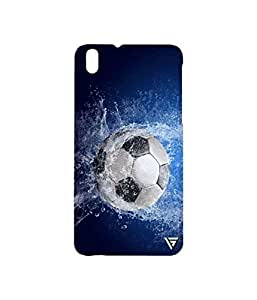 Vogueshell Football Printed Symmetry PRO Series Hard Back Case for HTC Desire 816G