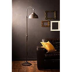LED Lámpara de pie industrial estilo retro iluminación planchar función de toque