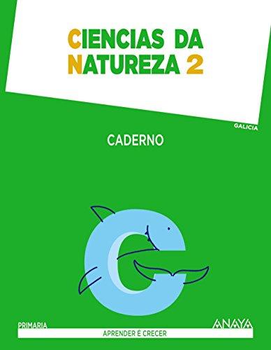 Ciencias da Natureza 2. Caderno. (Aprender é crecer) - 9788467884555