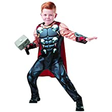 Rubie's 640836S Marvel Avengers Thor Deluxe Child Costume, Boys, Small