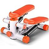 NSC Stepper Tapis Roulant Pédale De Fitness Exercice Formateur Multi-Fonction Maison De Perte De Poids Machine,Orange