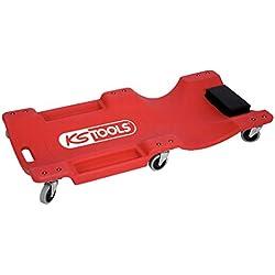 KS Tools 500.8090 Chariot de visite pour travailler sous un véhicule, charge maximale 120 kg