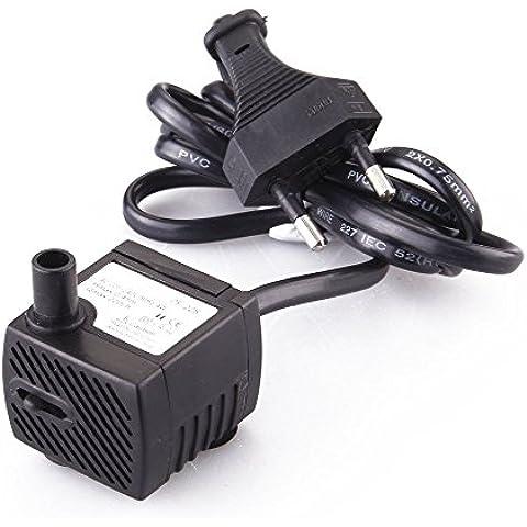 SODIAL(R) Bomba Agua Aire Oxigenador Compresor 4W para Pecera Acuario