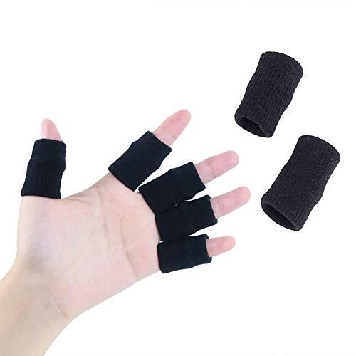 Yiwa Fingerärmel, Daumenbandage, Knöchelschutz, Fingerschutz, Unterstützung für Basketball, Volleyball, Linderung von Schmerzen, Schwielen, Arthritis Knöchel