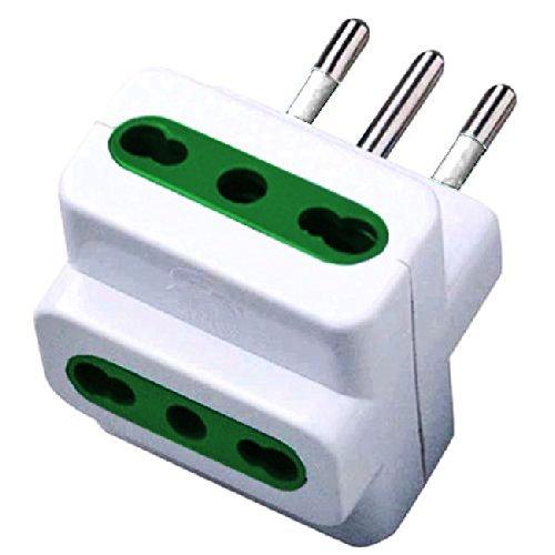 Spina elettrica adattatore tripla 10A