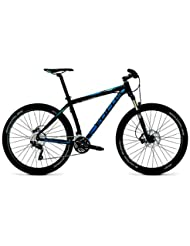 Focus Black Forest 27R 2.0 30 Gang-Kette Herren MTB 27,5 Zoll 2014 52 cm magicblack-matt(light blue/blue)