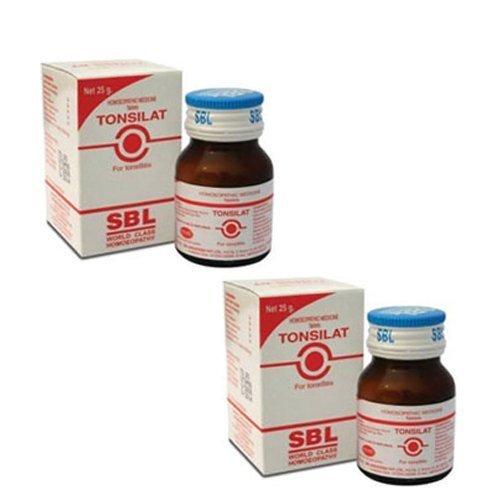 2 x SBL Homeopathy Tonsilat Tablets