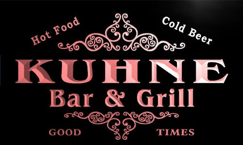 u24675-r-kuhne-family-name-bar-grill-home-beer-food-neon-sign-barlicht-neonlicht-lichtwerbung