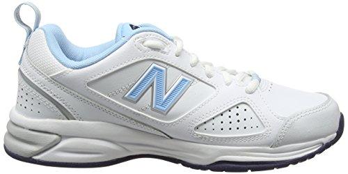 New BalanceWx624Wb4 - Scarpe Running donna Blanco - blanco (White/Blue)