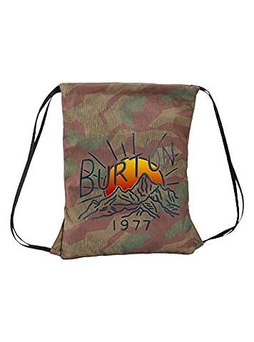 Burton Erwachsene Cinch Bag Gymbag, Splinter Camo Print, 45 x 40 x 0.5 cm