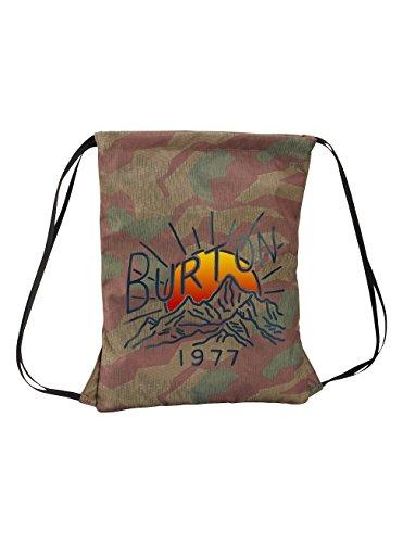 Burton Erwachsene Cinch Bag Gymbag, Splinter Camo Print, 45 x 40 x 0.5 cm (Camo Burton)
