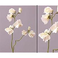 ROSA 3018090-10 Kunstblume WICKENZWEIG ca 43 cm Künstliche Wicken Wicke