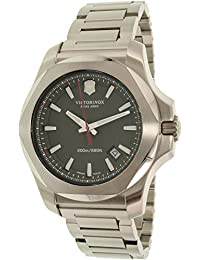 Victorinox Swiss Army Herren-Armbanduhr I.N.O.X. Analog Quarz Edelstahl 241725.1