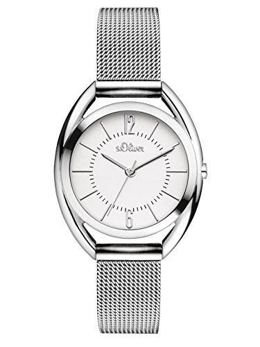 s.Oliver Time Damen-Armbanduhr SO-3323-MQ