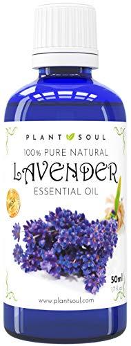 Ätherisches Lavendelöl 50ml 100% rein & natürlich | 1000 Tropfen | Wunderschönes Aroma | Hilft...