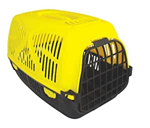 Good Girl Plastic Pet Carrier, 500mm/ 19.5-inch (colours may vary)