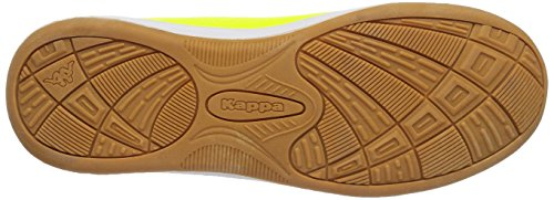 Kappa VYPER Unisex-Kinder Sneakers Gelb (4011 yellow/black)