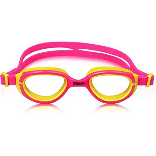 Occhialini da Nuoto Per Bambini, ZIONOR K2 Occhialini da nuoto