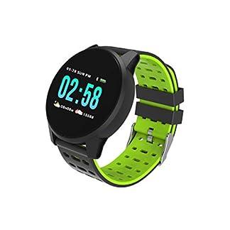 Time-Tech-Smartwatch-Fitnestracker-Sport-Armbanduhr-Smart-Watch-mit-Facebook-Twitter-WhatsappSkype-Benachrichtigungkompatible-IOS-und-Android-fr-Damen-Herren-in-DREI-Farben-wasserdicht