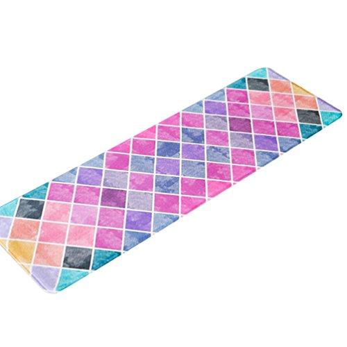 CHENGYANG Küche Teppiche Dekorative Rutschfeste Fußmatte Läufer Bereich Schmutzfangmatten Fußabtreter (Stil#3, 40 * 60cm)