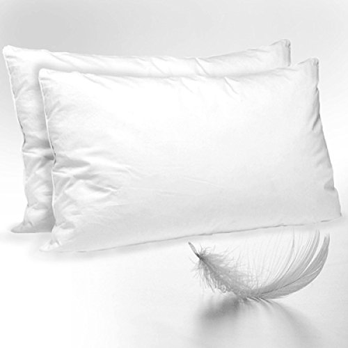 2x-luxury-duck-feather-down-pillows-soft-comfortable-high-quality-cotton-whitepair