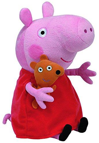 Peppa Pig Peluche Color rojo 55cm de alto TY 96281TY