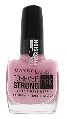 Maybelline Forever Strong Pro 145 Porcelaine Rose Vernis à ongles 10 ml