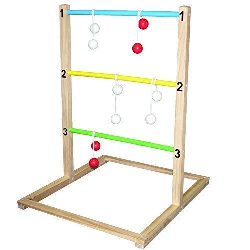 TikTakToo Leitergolf Raab Laddergolf Bola Ladder Golf incl.Spielanleitung Neu Funsport