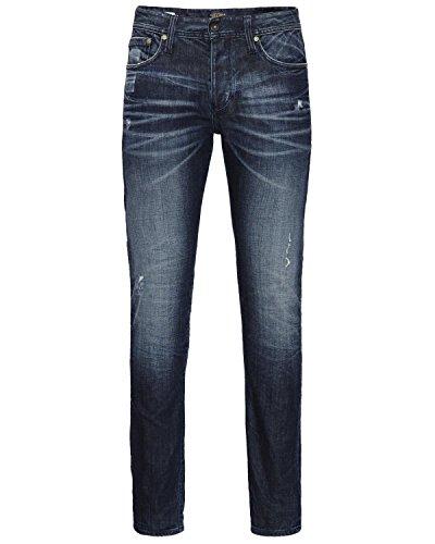JACK JONES - Homme slim fit jeans glenn original ak 679 Denim Foncé