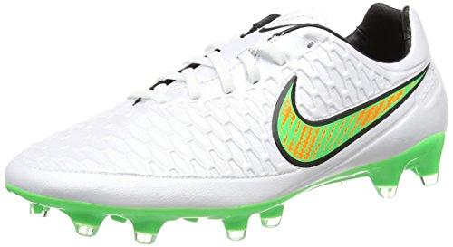 Nike  Magista Orden Fg, Entraînement Football homme vert (White/Black/Total Orange/Poison Green)