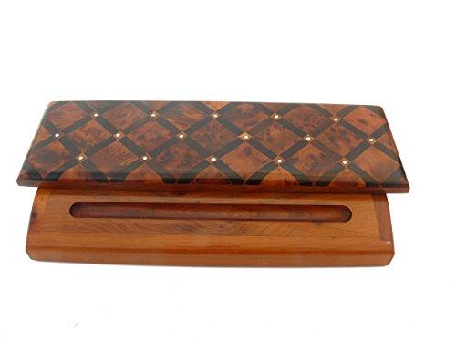 Holz Kugelschreiber Füller Stifte Halter Büro Schreibtischutensil Etui Geschenkbox