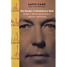 The Reader of Gentlemena??s Mail by David Kahn (2011-04-28)