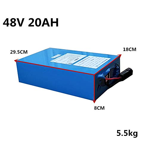 Alto Voltaje 2000W 48V 20AH 30AH 40AH 60AH Batería