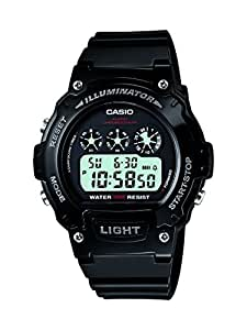 Casio Collection – Montre Unisex Digital avec Bracelet en Résine – W-214HC-1AVEF