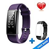 Best Health Trackers - Lintelek Fitness Tracker, Customized Activity Tracker with 14 Review