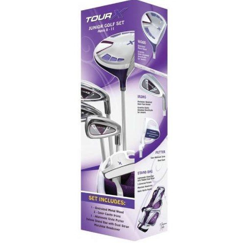merchants-of-golf-tour-x-purple-5-piece-junior-golf-complete-set-with-stand-bag-left-hand-8-11-age-g
