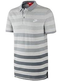 Nike GS Slim Polo-Solstice - Camiseta para hombre, color blanco, talla M